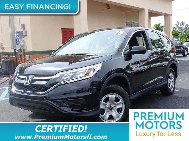 2015 HONDA CR-V AWD 5DR LX LOADED CERTIFIED FACTORY WARRANTY Fully serviced just sign and driv