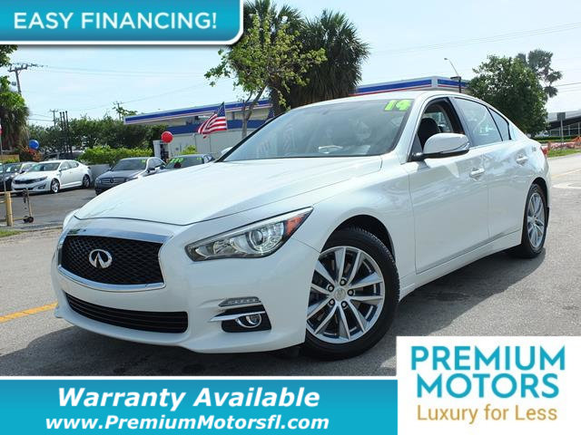 2014 INFINITI Q50 4DR SEDAN RWD PREMIUM LOADED CERTIFIED WARRANTY Dont Pay Retail Get low mon