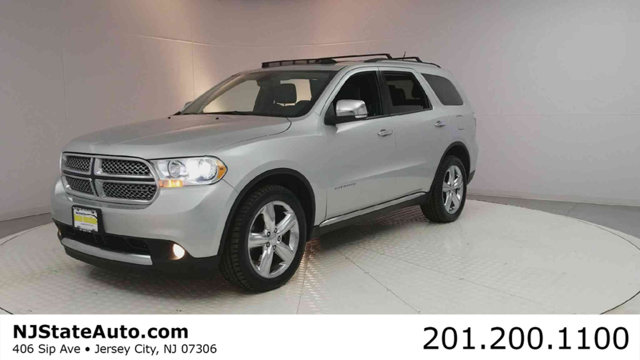 2011 DODGE DURANGO AWD 4DR CITADEL CARFAX One-Owner Clean CARFAX Bright Silver Metallic 2011 Dod
