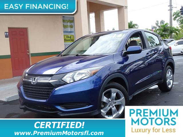 2016 HONDA HR-V 2WD 4DR CVT LX LOADED CERTIFIED MINT CONDITION and 1000s Below Retail Get low