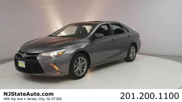 2016 TOYOTA CAMRY HYBRID 4DR SEDAN SE CARFAX One-Owner Clean CARFAX Predawn Gray Mica 2016 Toyot