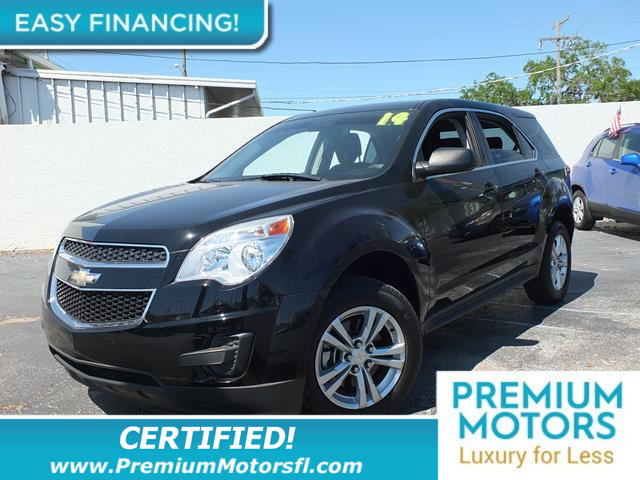 2014 CHEVROLET EQUINOX FWD 4DR LS LOADED CERTIFIEDFACTORY WARRANTY Fully serviced just si