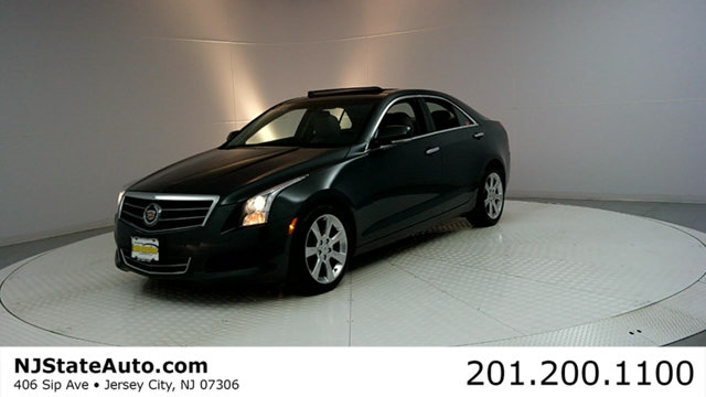 2014 CADILLAC ATS 4DR SEDAN 20L LUXURY AWD CARFAX CERTIFIED 1-OWNER WITH SERVICE RECORDS ATS