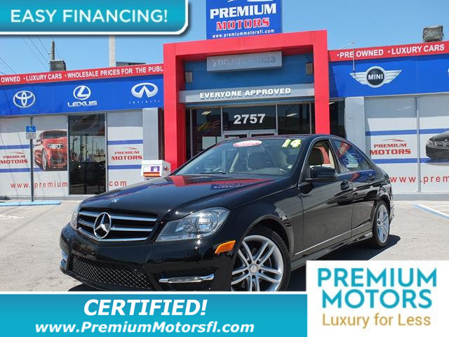 2014 MERCEDES C-CLASS 4DR SEDAN C 250 SPORT RWD LOADED CERTIFIEDFACTORY WARRANTY Fully ser