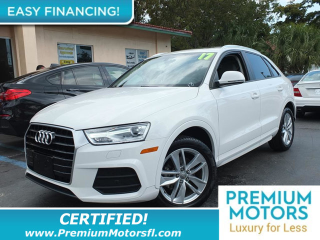 2017 AUDI Q3 20 TFSI PREMIUM FWD LOADED CERTIFIED MINT CONDITION and 1000s Below Retail Get l