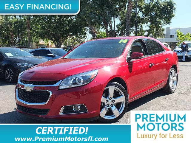 2014 CHEVROLET MALIBU 4DR SEDAN LTZ W2LZ LOADED CERTIFIED WE SAVE YOU THOUSANDS Fully serviced