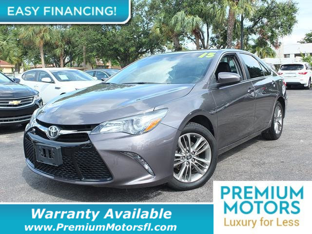 2015 TOYOTA CAMRY  BUY AND DRIVE WORRY FREE Own this CARFAX 1-Owner and Buyback Guarantee Qualifi