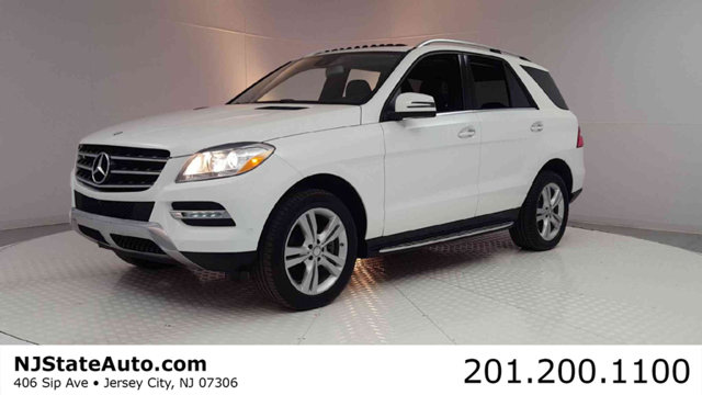 2015 MERCEDES M-CLASS ML 350 4MATIC 4DR ML350 CARFAX One-Owner Clean CARFAX Diamond White 2015 Me