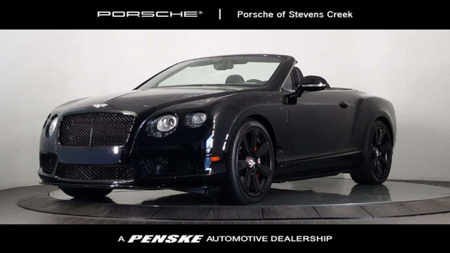 2015 BENTLEY CONTINENTAL GT V8 S 2DR CONVERTIBLE Jet Black Like new Want to save some money Get