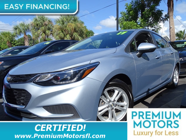 2017 CHEVROLET CRUZE 4DR SEDAN 14L LT W1SD CHEVY FOR LESS FACTORY WARRANTY At Premium Mot