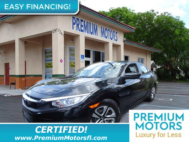 2016 HONDA CIVIC SEDAN 4DR CVT LX LOADED CERTIFIED MINT CONDITION and 1000s Below Retail Get l