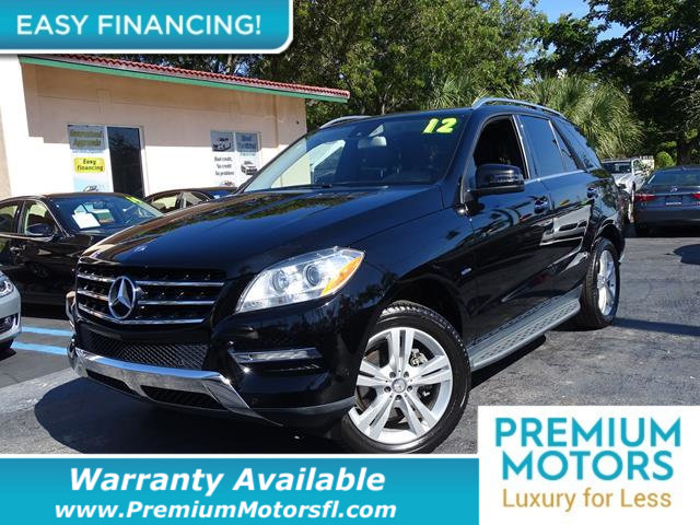 2012 MERCEDES M-CLASS  LOADED CERTIFIED WARRANTY Dont Pay Retail Get low monthly payments on
