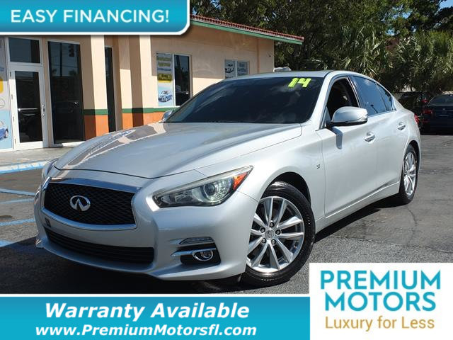 2014 INFINITI Q50 4DR SEDAN RWD VERY LOW MILES At just 33217 miles this 2014 INFINITI provides g