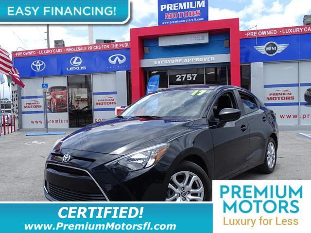 2017 TOYOTA YARIS IA  LOADED CERTIFIED MINT CONDITION and 1000s Below Retail Get low monthly p