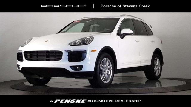 2016 PORSCHE CAYENNE AWD 4DR Agate Gray with Partial Leather Seat Trim Constructed to the highest