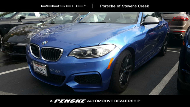 2017 BMW 2 SERIES M240I CARFAX One-Owner Clean CARFAX Blue 2017 BMW 2 Series M240i RWD I6SUPER C