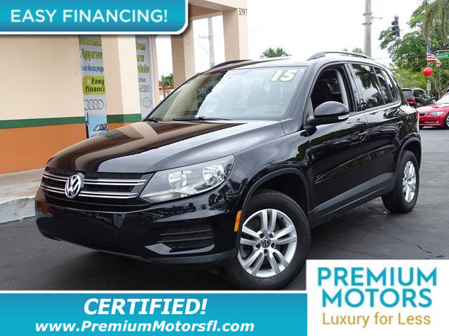 2015 VOLKSWAGEN TIGUAN  LOADED CERTIFIEDFACTORY WARRANTY Fully serviced just sign and dri