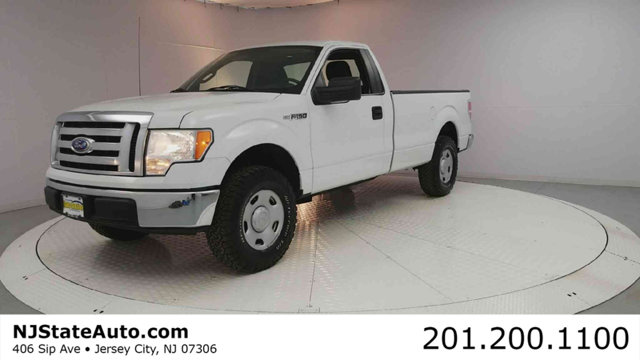 2009 FORD F-150 2WD REG CAB 145 XL Oxford White 2009 Ford F-150 XL RWD 4-Speed Automatic with Ove