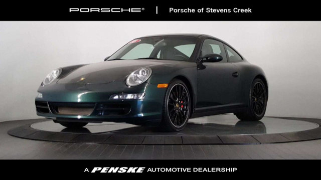 2008 PORSCHE 911 2DR COUPE CARRERA 4S AWD Green Machine All the right ingredients Be the talk o
