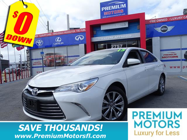2015 TOYOTA CAMRY 4DR SEDAN I4 AUTOMATIC XLE TOYOTA FOR LESS FACTORY WARRA