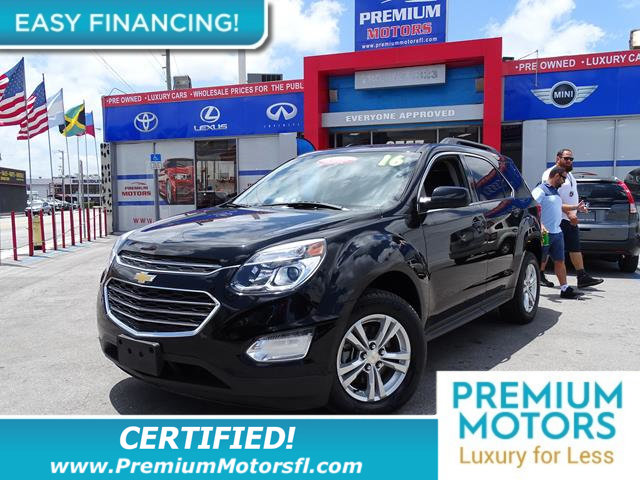 2016 CHEVROLET EQUINOX AWD 4DR LT LOADED CERTIFIED WE SAVE YOU THOUSANDS Fully serviced j