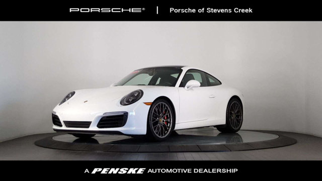 2017 PORSCHE 911 CARRERA COUPE CARFAX One-Owner Clean CARFAX White 2017 Porsche 911 Carrera RWD