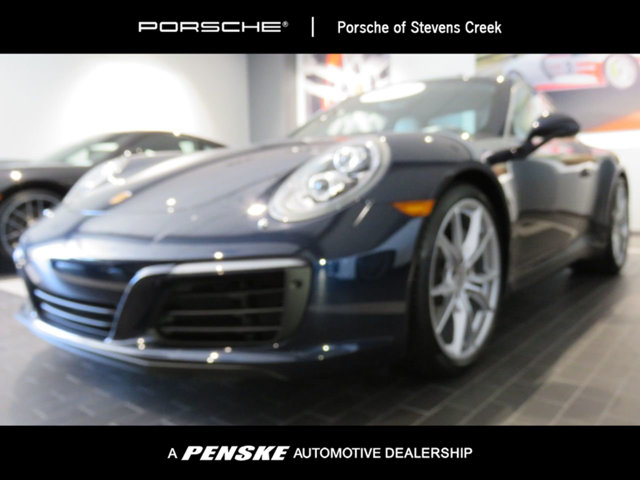 2017 PORSCHE 911 CARRERA COUPE Porsche Certified Porsche Certified Pre-Owned means you not only g