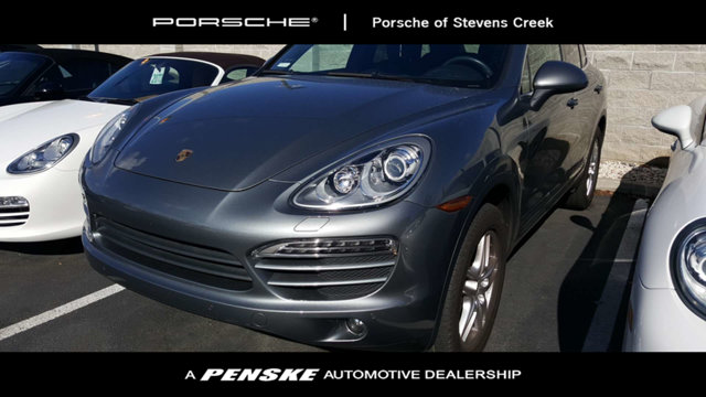 2014 PORSCHE CAYENNE 4DR AWD TIPTRONIC Black with Full Leather Seat Trim Gasoline AWD Be the ta