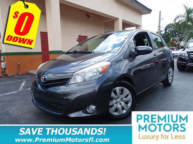 2013 TOYOTA YARIS LE SAVE THOUSANDS At Premium Motors we have relationships with banks large a