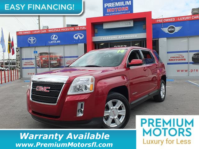 2013 GMC TERRAIN FWD 4DR SLE WSLE-1 LOADED CERTIFIED WE SAVE YOU THOUSANDS Fully serviced jus
