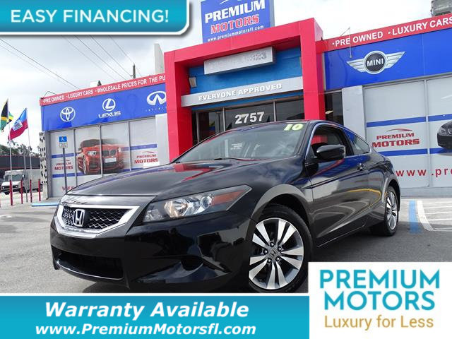 2010 HONDA ACCORD COUPE 2DR I4 AUTOMATIC LX-S LOADED CERTIFIED WE SAVE YOU THOUSANDS Fully serv