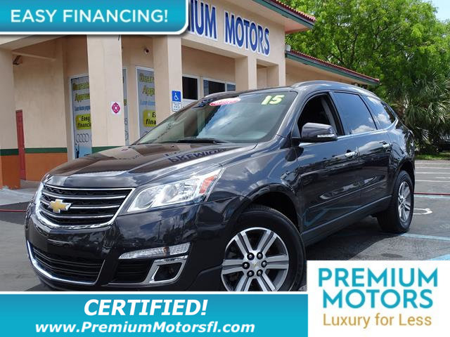 2015 CHEVROLET TRAVERSE FWD 4DR LT W1LT LOADED CERTIFIED WE SAVE YOU THOUSANDS Fully serviced