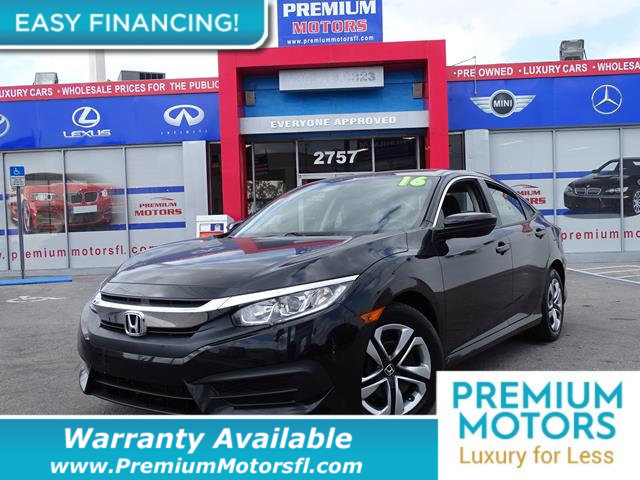 2016 HONDA CIVIC SEDAN 4DR CVT LX LOADED CERTIFIED WE SAVE YOU THOUSANDS Dont Pay Retail Get