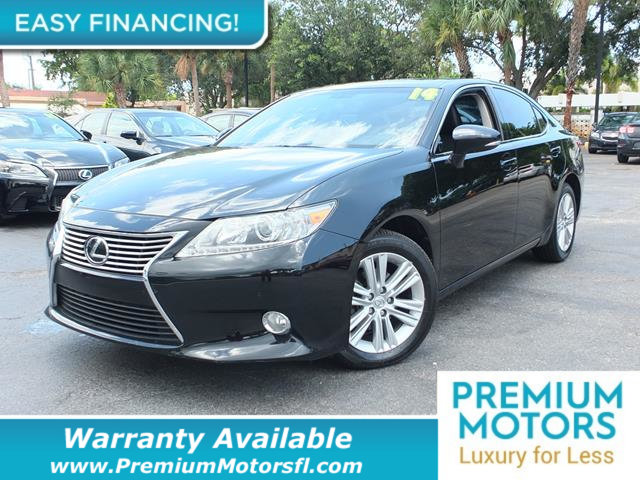 2014 LEXUS ES 350 4DR SEDAN LOADED CERTIFIED WARRANTY Dont Pay Retail Get low monthly payment