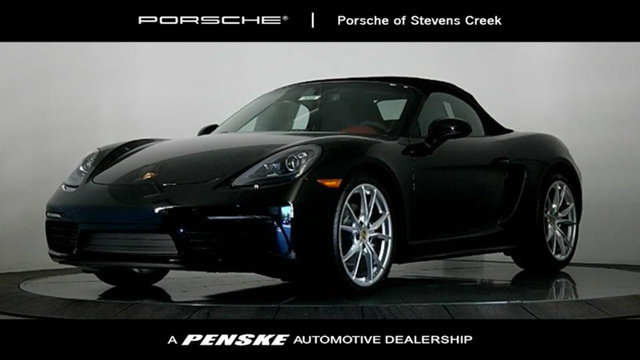 2017 PORSCHE 718 BOXSTER ROADSTER LOADED WITH VALUE Comes equipped with 14-Way Power Sport Seats