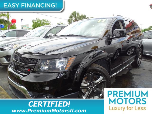 2017 DODGE JOURNEY CROSSROAD PLUS FWD LOADED  FACTORY WARRANTY At Premiu