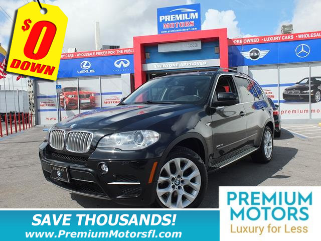 2013 BMW X5 XDRIVE35I BMW FOR LESS LOADED At Premium Motors we have relationships with banks la