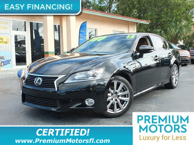 2013 LEXUS GS 350 4DR SEDAN RWD LOADED CERTIFIED WE SAVE YOU THOUSANDS Fully serviced just sig
