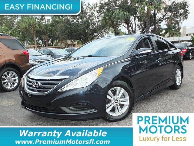 2014 HYUNDAI SONATA 4DR SEDAN 24L AUTOMATIC GLS LOADED CERTIFIED WARRANTY Dont Pay Retail Ge