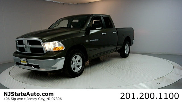 2012 RAM 1500 4WD CREW CAB 1405 SLT 1500 SLT 4D Quad Cab and 4WD Green Machine Extended Cab