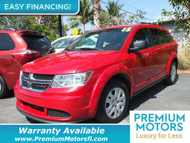 2015 DODGE JOURNEY  LOADED CERTIFIED FACTORY WARRANTY Fully serviced just sign and drive Don