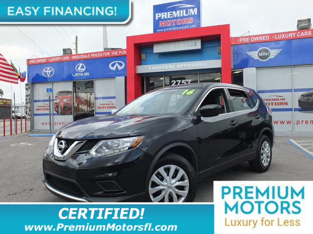 2016 NISSAN ROGUE FWD 4DR S LOADED CERTIFIED WE SAVE YOU THOUSANDS Fully serviced just sign an