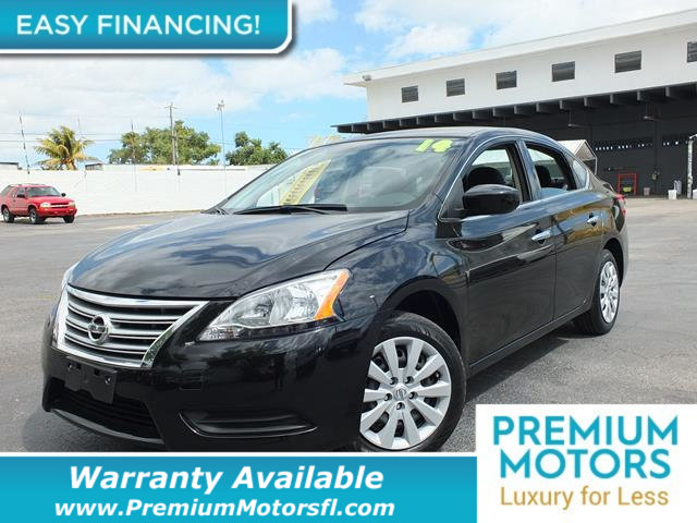 2014 NISSAN SENTRA  LOADED CERTIFIED FACTORY WARRANTY Fully serviced just sign and drive Don