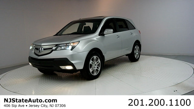2008 ACURA MDX 4WD 4DR TECHENTERTAINMENT PKG CARFAX CERTIFIED WITH SERVICE RECORDS MDX Tec