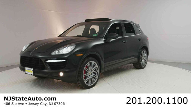2012 PORSCHE CAYENNE AWD 4DR TURBO CARFAX One-Owner Clean CARFAX Black 2012 Porsche Cayenne Turb