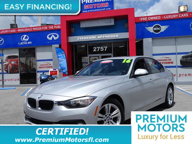 2016 BMW 3 SERIES 328I LOADED CERTIFIED WE SAVE YOU THOUSANDS Fully serviced just sign and dri