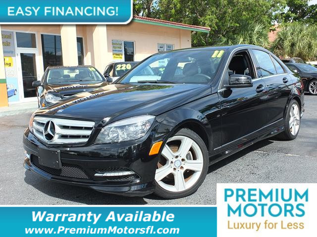 2011 MERCEDES C-CLASS  LOADED CERTIFIED WARRANTY Dont Pay Retail Get low monthly payments on