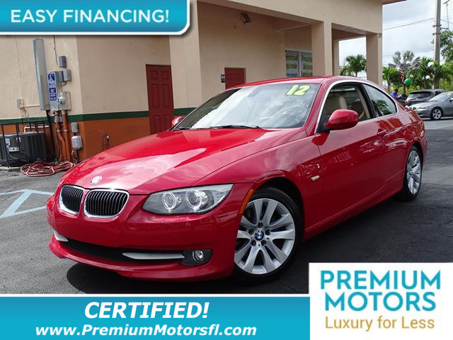 2012 BMW 3 SERIES 328I LOADED CERTIFIED WE SAVE YOU THOUSANDS Fully serviced just sign an