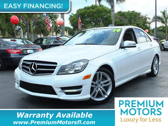 2014 MERCEDES C-CLASS 4DR SEDAN C 250 SPORT RWD LOADED CERTIFIED WARRANTY Dont Pay Retail Get