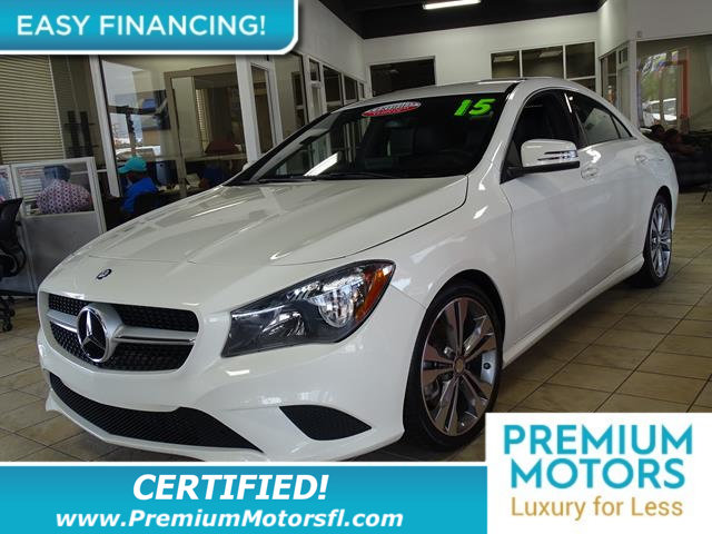 2015 MERCEDES CLA 4DR SEDAN CLA 250 FWD LOADED CERTIFIEDFACTORY WARRANTY Fully serviced j